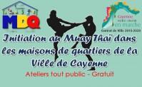 Initiation au Muay Thai dans les maisons de quartiers