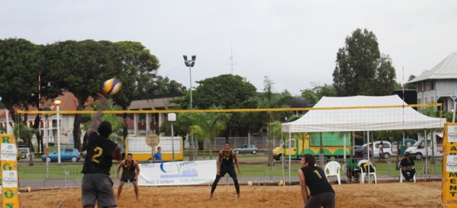 Tournoi international de Beach Volley
