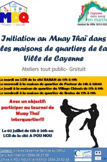 Initiation muay thai