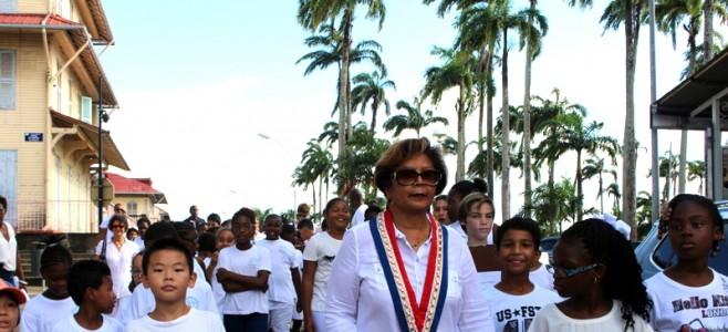 Marche blanche pour la liberté