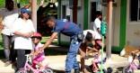 Action de sensibilisation à la prévention routière au jardin d'enfants