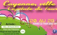 Tour de Guyane 2016 : Cayenne sur 3 étapes