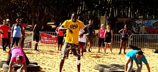 Beach Bootcamp à l'Anse Montabo