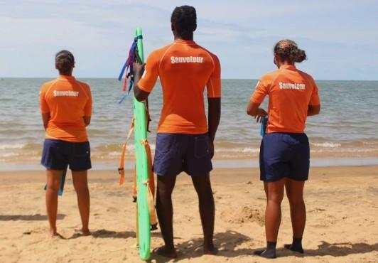 Surveillance des baignades à l'Anse Montabo