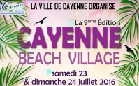 Inscrivez vous au Cayenne Beach Village 9ème édition