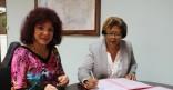 Signature de convention pour la 41ème braderie