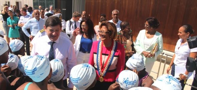 Visite de Patrick Kanner, le ministre de la Ville, de la Jeunesse et des Sports