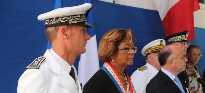 Bernard CAZENEUVE, ministre de l'intérieur, en visite à Cayenne