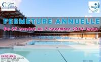 Fermeture du Centre Aquatique de Cayenne