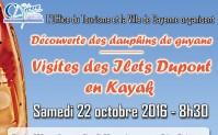 Visitez les Ilets Dupont en kayak