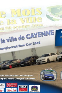 Run car - Grand prix de la ville de Cayenne