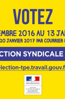 Election syndicale TPE