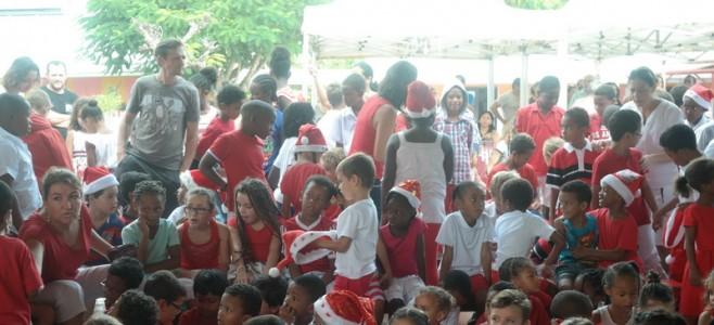 Chanté Nwel dans les écoles de Cayenne