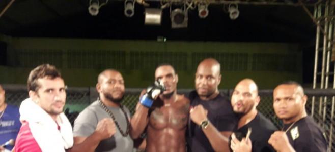Victoires des combattants guyanais lors du North Extrem Cage Fighting au Brésil