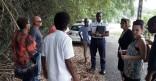 Rencontre avec les habitants du lotissement Goyaviers