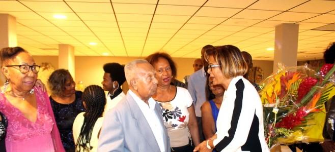 Le maire rend hommage à notre nouveau centenaire