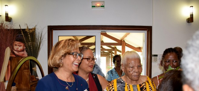 Cayenne rend hommage à la nouvelle centenaire