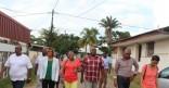 Le Maire de la Ville se rend Quartier Mango