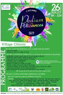 Podium Vacances Programme