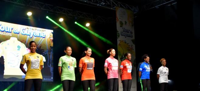 Soirée de présentation des équipes du Tour de Guyane 2017