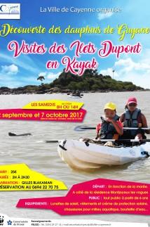 Visites des Ilets Dupont en Kayak