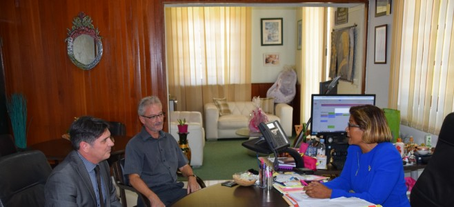 Rencontre du nouveau Directeur de la Caisse des Dépôts et Consignations