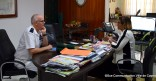Visite protocolaire du nouveau commandant des forces armées de Guyane