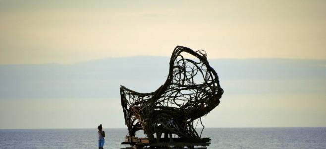 Exposition chaise végétale «Cycle de vie»