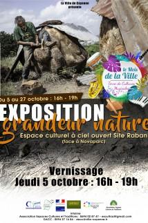 Exposition grandeur nature