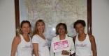 Visite des participantes guyanaises du RAID des Alizés