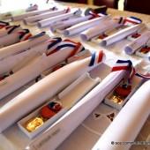 Cérémonie de remise des médailles du travail