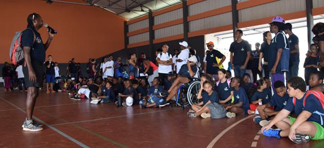 Les Paralympiades du Tour de l'Ile de CAYENNE