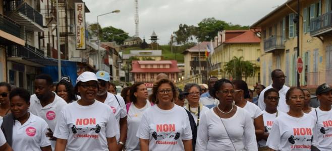 Marche silencieuse de lutte contre la maltraitance et la vente des êtres humains