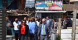 Visite des squats à Cayenne