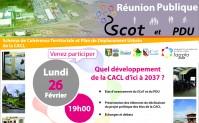 Réunion Publique Scot et PDU