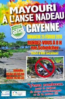 Mayouri à l'Anse Nadeau Cayenne