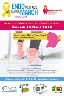 Marche mondiale contre l'endométriose