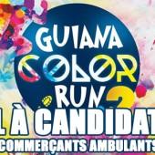 Appel à candidatures commerçants ambulants Guiana Color Run 2