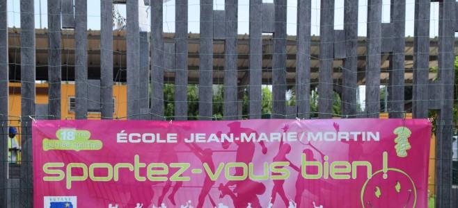 Journée sportive à l'école Jean-Marie Mortin