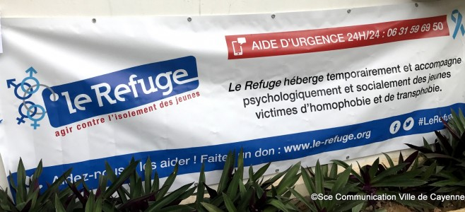 Inauguration du local le Refuge