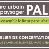 Atelier de concertation d parc urbain paysager Palika