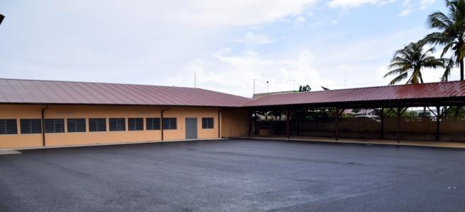 Visite de chantier du groupe scolaire Bernude/Zéphir