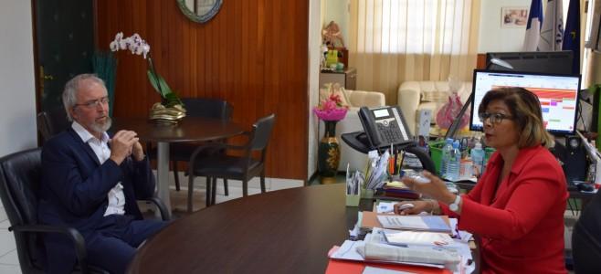 Visite de courtoisie du nouveau Président du tribunal administratif de la Guyane