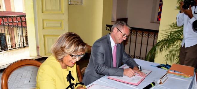 Contractualisation « CAHORS » entre la ville de Cayenne et la Préfecture de la Région Guyane