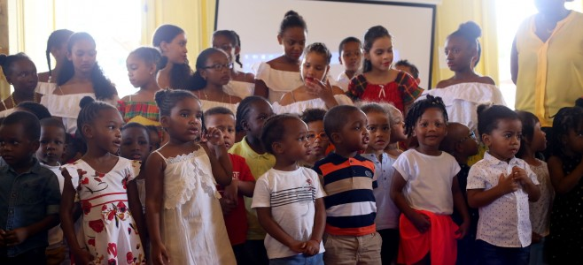 Promotion du CD «Kozé Ti Moun» du jardin d'enfants municipal