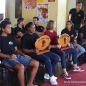 Réception des jeunes champions du stade Cayennais