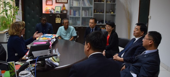 Visite protocolaire de l'Ambassadeur de Chine en France