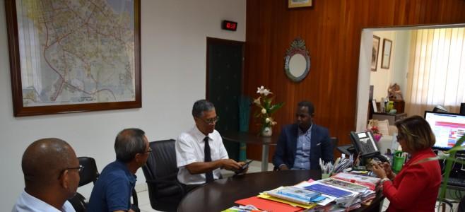 Visite de courtoisie du Directeur Régional des Douanes