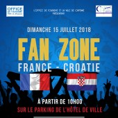 Fan Zone – Finale coupe du monde 2018