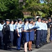 Cérémonie de fin de formation des futurs réservistes de la gendarmerie